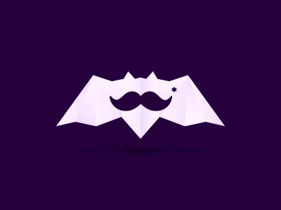 Movember* bat special stache moustache mustache movember no shave november beard bats logo designer logo design logo bat alex tass hipster symbol