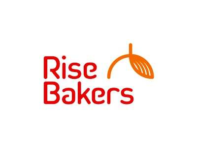 Rise Bakers logo redesign rise bakers bakery food bread sun logo logo design monogram pastry cakes rb r b mark