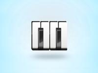 Eleven audio productions logo design symbol
