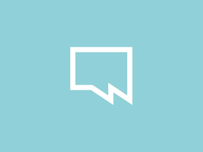 w chat bubble logo design symbol by alex tass logo designer