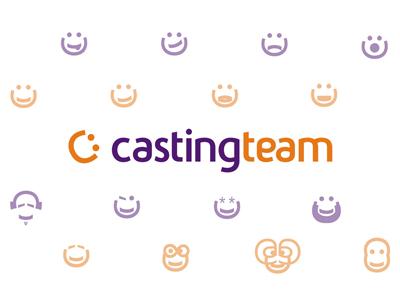 CastingTeam logo & icons / emoticons design by Alex Tass