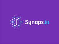 Synaps.io logo design