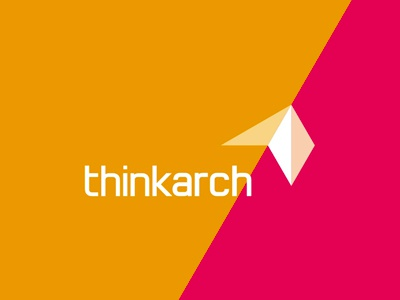 ThinkArch architecture competition logo design letter mark monogram t a at ta logo logo design architecture competition interior design landscape urbanism garden architecture geometric abstract diagonal geometry
