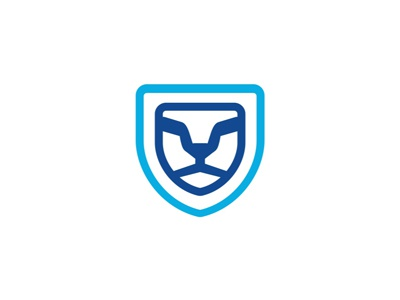 lion shield security logo design symbol by alex tass logo rh dribbble com security logo maker security logo maker