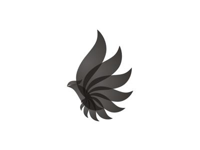 Black Bird Phoenix Logo Design Symbol By Alex Tass Logo Designer On Dribbble