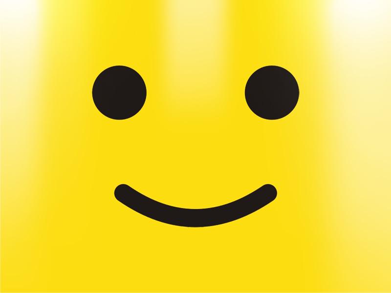 LEGO minifigure head by Alex Tass, logo designer - Dribbble