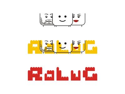 LEGO Users Group logo design interactive lego lug community afol tfol logo logo design users group