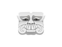 Stone Guru logo design symbol