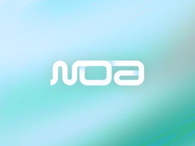 Noa glam club logo design