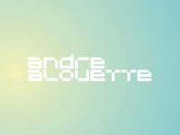 Andre Alouette dj and producer logo design