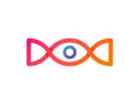 Eye Candy logo design symbol