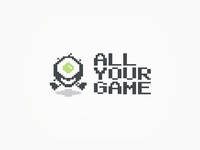 All Your Game logo design