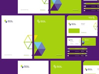 Startup Ventures logo, stationery, identity design