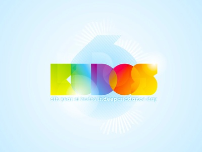 TBT: Kudos Beach logo design colorful clubbing parties party club open air beach bar logo design logo