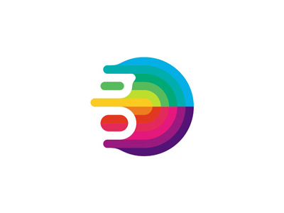 G / gravity colorful abstract fluid logo design symbol space logo logo design paths monogram g interactive rotation revolution colorful gravitation gravity abstract fluid geometric