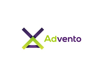 Advento in-game advertising logo design by Alex Tass, logo ...