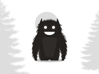 Beast / monster character / logo design symbol