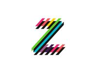 Z letter mark, EDM / clubbing events logo design