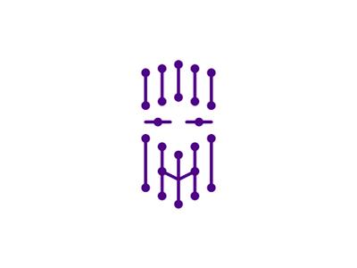 Artificial intelligence AI IT assistant logo design symbol neural network nodes head face ai artificial intelligence it interactive assistant friendly character logo logo design symbol icon mark digital virtual connections robot robotics asimov
