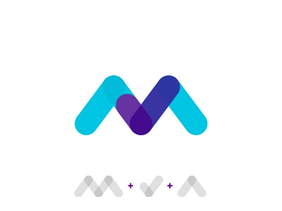 M Letter + check mark for MakeAble logo design symbol a completed done confirmation checkmark check mark m v letter mark monogram makeable doable printing manufacturers logo logo design t-shirts apparel books docs merch swag decor
