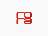rora records label logo design
