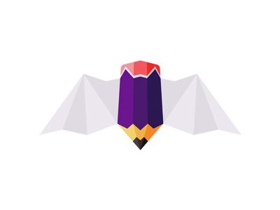 I have a BLOG! :) frequently asked questions faq logo designer blog portfolio website logo design logo personal identity batman pencil bat