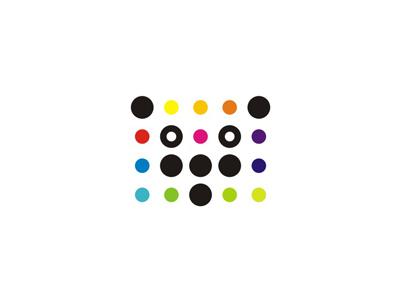 Dots panda, logo design symbol by Alex Tass, logo designer - Dribbble