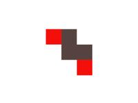L+M monogram for modular furniture logo design