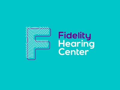 Fidelity hearing center logo design by alex tass