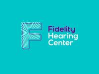 Fidelity hearing center logo design