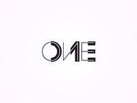One experimental logo design
