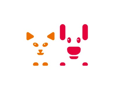Cat Dog For Veterinary Hospital Logo Design Symbol By Alex Tass