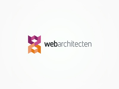WebArchitecten web design studio logo design logo designer identity branding brand typographic typography type logotype designs logos logo logo design modern fresh original unique new colorful creative netherlands studio design architecten web it logo architecture architect architects design studio advertising agency