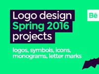 LOGO DESIGN projects, spring 2016 @ Behance