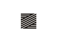 Z letter mark logo design symbol