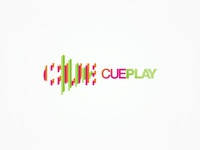 cue play logo design
