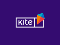 Kite, e-learning platform logo design