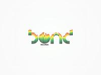 Bond Records logo design