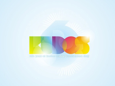 Kudos beach - 6 years anniversary logo design kudos beach beach summer party clubbing electronic anniversary redesign rebranding creative colorful logo design logo design logo designer logotype type typography typographic brand identity branding event branding logo redesign logo refresh word mark refresh logos poster design flyer design