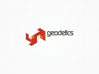 Geodetics - real estate, civil engineering - logo design
