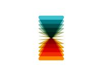 VA monogram, logo design symbol