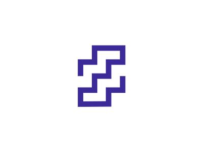 Z + stairs, letter mark / logo design symbol s letter mark monogram z logo logo design letter mark symbol icon stairs interior design homes houses mobile apps floor plan doorways corridors corner rooms