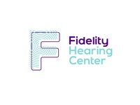 Fidelity hearing center logo design