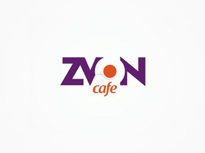 Zvon cafe logo design colorful logo design logo design logo designer logotype type typography typographic brand identity branding custom made custom zvon cafe bar pub grill creative