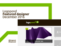 Logopond Featured Designer, December 2016