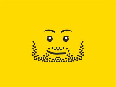 LEGO 'self portrait' :) signature minifig holidays sigfig adult fan of lego afol beard bearded minifigures head illustration hobby hobbies lego