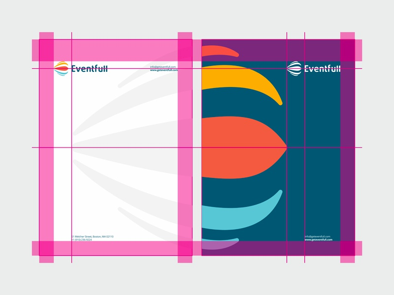Eventfull identity design by alex tass   a4 letterhead