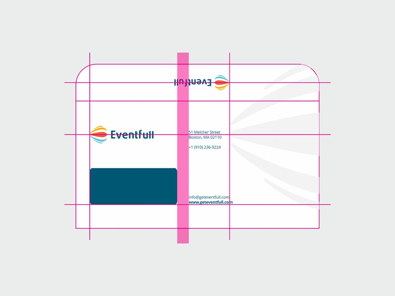 Eventfull identity design by alex tass   dl envelope
