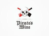 Pirate's Wine, experimental logo design