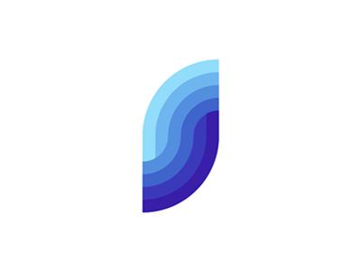 S, sea, waves, logo design mark letter mark monogram s water ocean deep blue waves sea flat 2d geometric vector icon mark symbol logo design logo